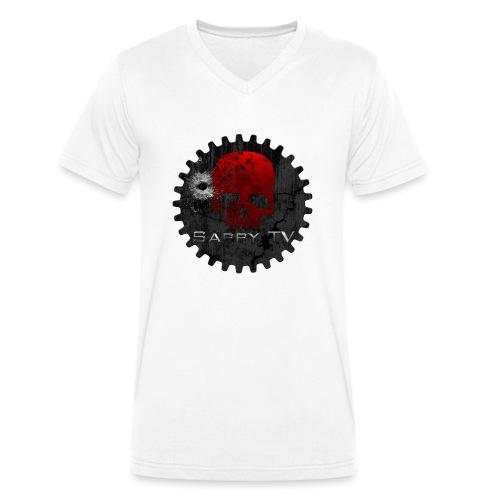 SappyLogo - Männer Bio-T-Shirt mit V-Ausschnitt von Stanley & Stella