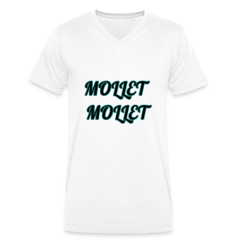 mollet mollet squad - T-shirt bio col V Stanley & Stella Homme