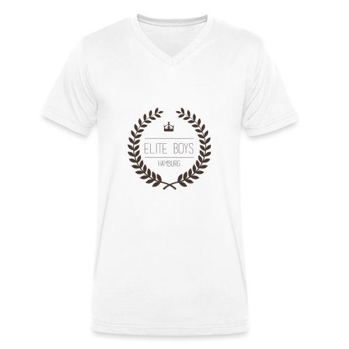 Elite Boys Logo - Männer Bio-T-Shirt mit V-Ausschnitt von Stanley & Stella