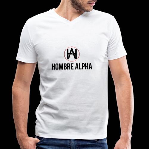 Hombre Alpha Logo - Camiseta ecológica hombre con cuello de pico de Stanley & Stella