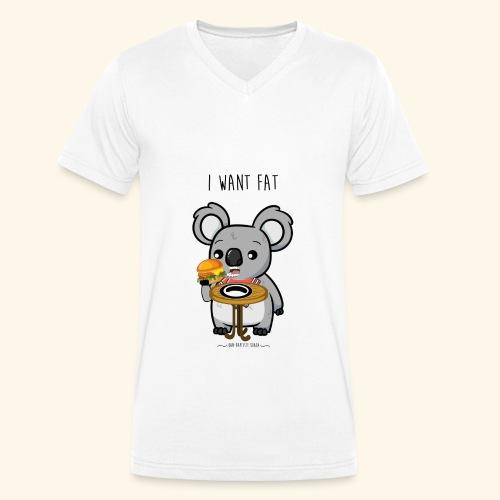 i want fate - T-shirt bio col V Stanley & Stella Homme