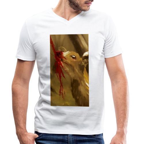 Shot? - Mannen bio T-shirt met V-hals van Stanley & Stella