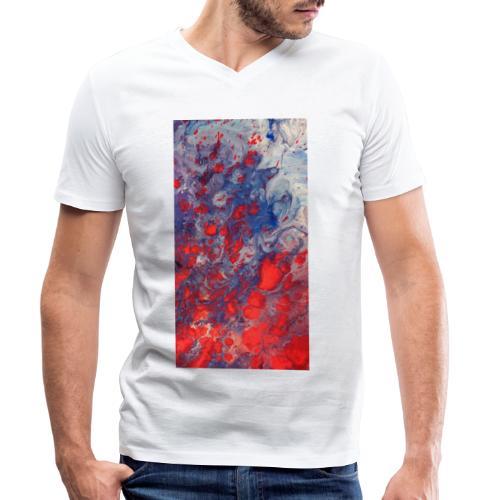 Fury - Mannen bio T-shirt met V-hals van Stanley & Stella