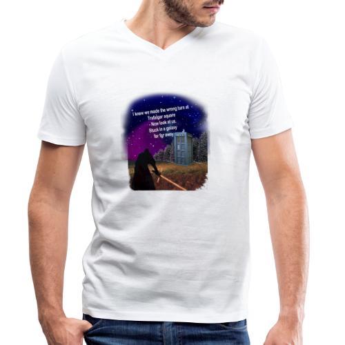 Bad Parking - Men's Organic V-Neck T-Shirt by Stanley & Stella
