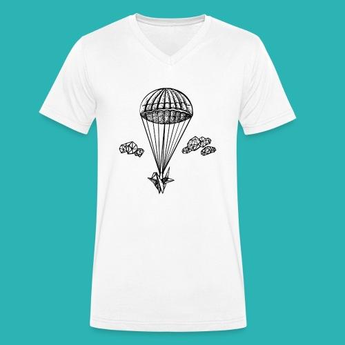 Veleggiare_o_precipitare-png - T-shirt ecologica da uomo con scollo a V di Stanley & Stella