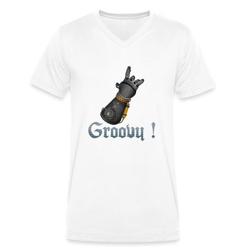 Dungeon Groovy ! - T-shirt bio col V Stanley & Stella Homme