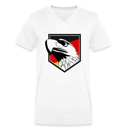 Adler - Männer Bio-T-Shirt mit V-Ausschnitt von Stanley & Stella