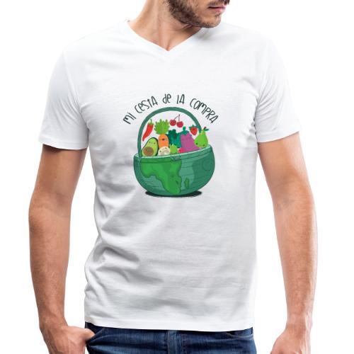 Mi cesta de compra - Camiseta ecológica hombre con cuello de pico de Stanley & Stella