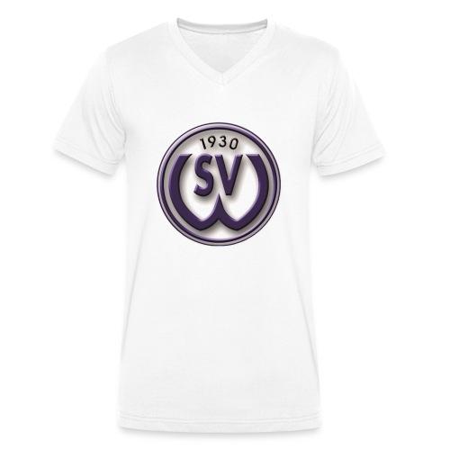 svw 4c logo transparent png - Männer Bio-T-Shirt mit V-Ausschnitt von Stanley & Stella
