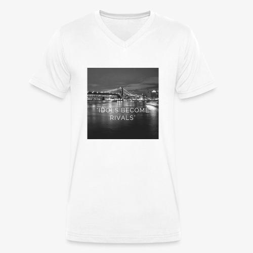 Idols Become Rivals - Men's Organic V-Neck T-Shirt by Stanley & Stella