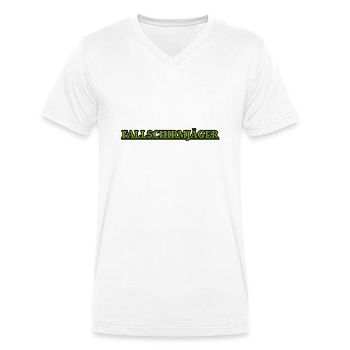 Fallschirmjaeger - Männer Bio-T-Shirt mit V-Ausschnitt von Stanley & Stella