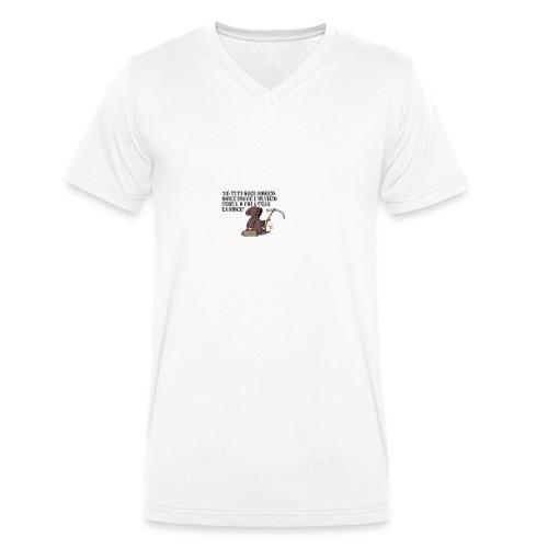 Comicità - T-shirt ecologica da uomo con scollo a V di Stanley & Stella