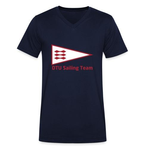DTU Sailing Team Official Workout Weare - Men's Organic V-Neck T-Shirt by Stanley & Stella