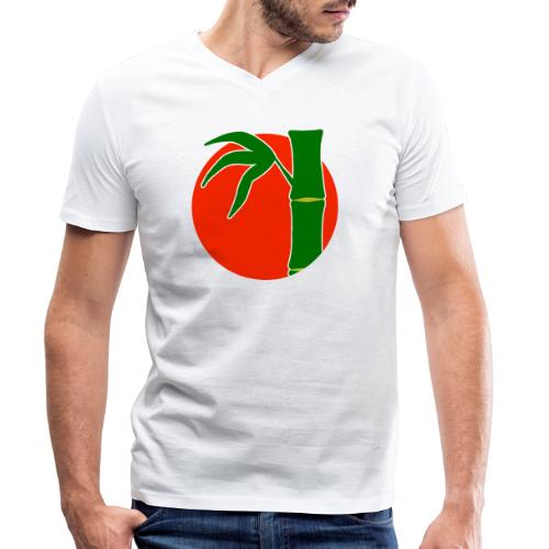 Take - T-shirt bio col V Stanley & Stella Homme
