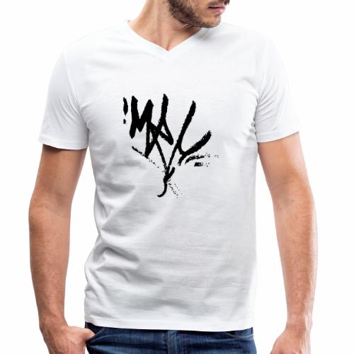 mrc tag - Männer Bio-T-Shirt mit V-Ausschnitt von Stanley & Stella