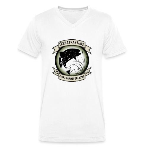 Järnatraktens Fiskevårdsförening - Ekologisk T-shirt med V-ringning herr från Stanley & Stella