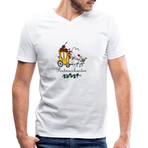Postmusikanten - Männer Bio-T-Shirt mit V-Ausschnitt von Stanley & Stella