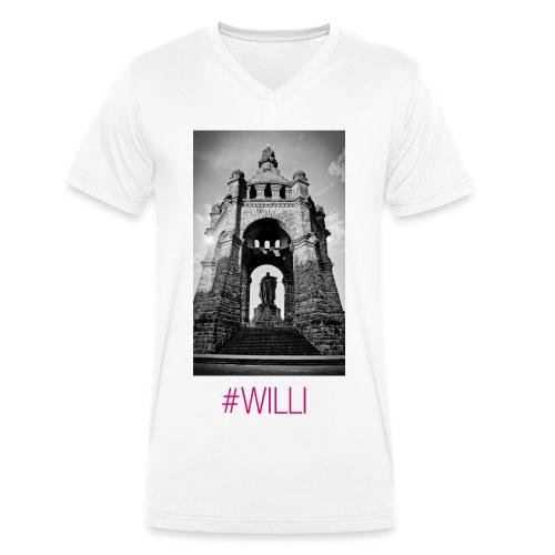 WILLI - Männer Bio-T-Shirt mit V-Ausschnitt von Stanley & Stella