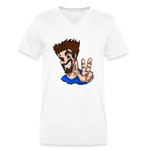 PC Archangel Poloshirt - Männer Bio-T-Shirt mit V-Ausschnitt von Stanley & Stella