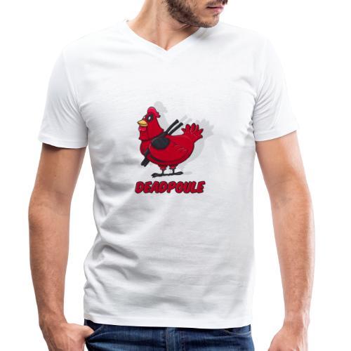 Deadpoule - T-shirt bio col V Stanley & Stella Homme