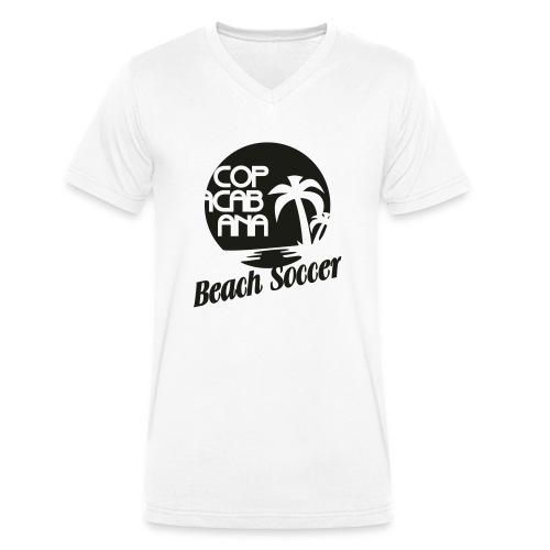 Copacabana Beach Soccer - Männer Bio-T-Shirt mit V-Ausschnitt von Stanley & Stella