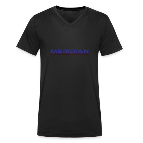 Meridian - T-shirt ecologica da uomo con scollo a V di Stanley & Stella