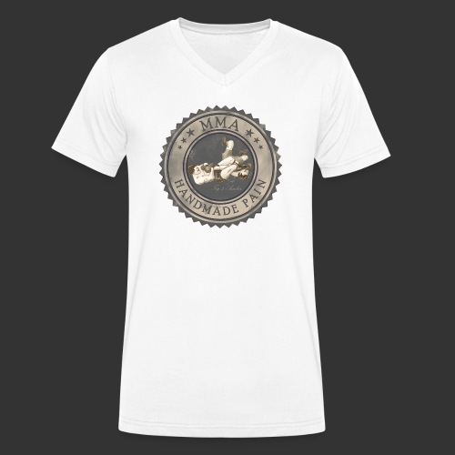 MMA Retro - Männer Bio-T-Shirt mit V-Ausschnitt von Stanley & Stella
