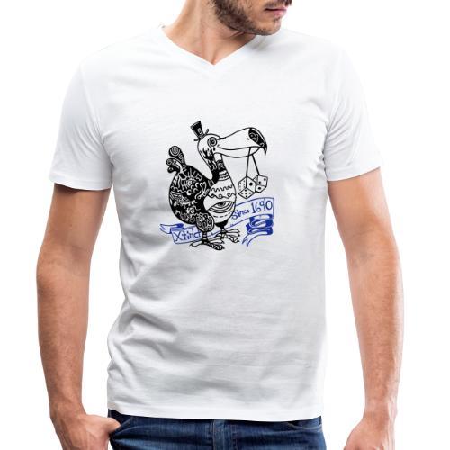 Dronte - Männer Bio-T-Shirt mit V-Ausschnitt von Stanley & Stella