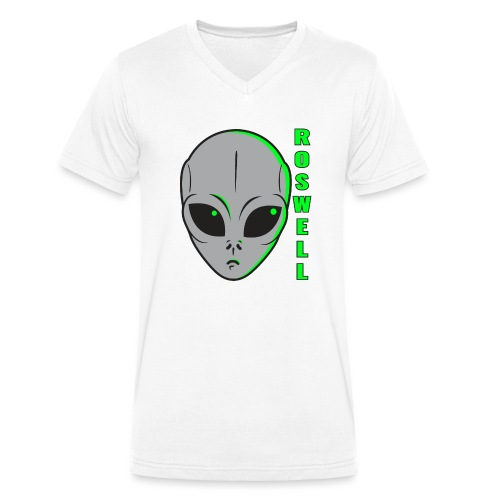 Roswell - T-shirt bio col V Stanley & Stella Homme
