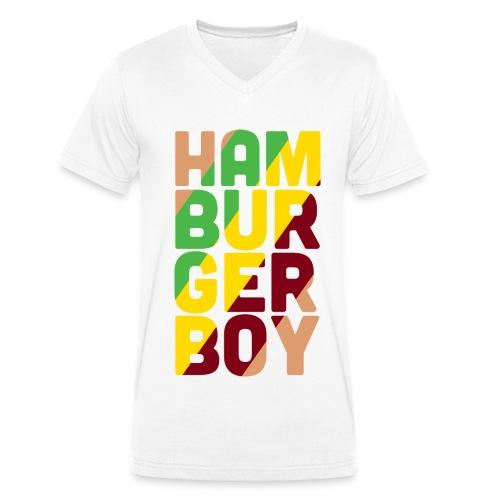 hbbTEEtwo png - Mannen bio T-shirt met V-hals van Stanley & Stella