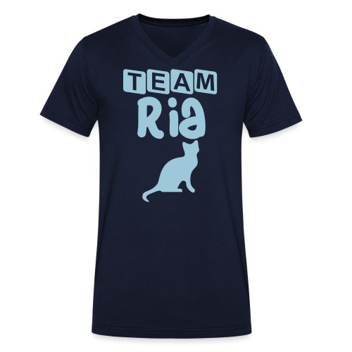 Team Ria - Men's Organic V-Neck T-Shirt by Stanley & Stella