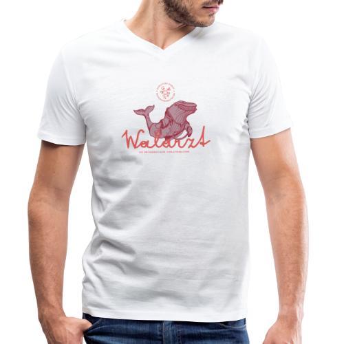 Der Walarzt - Männer Bio-T-Shirt mit V-Ausschnitt von Stanley & Stella