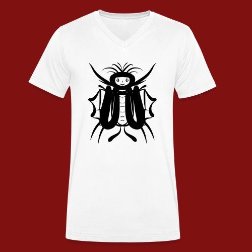 butterflyman - Männer Bio-T-Shirt mit V-Ausschnitt von Stanley & Stella