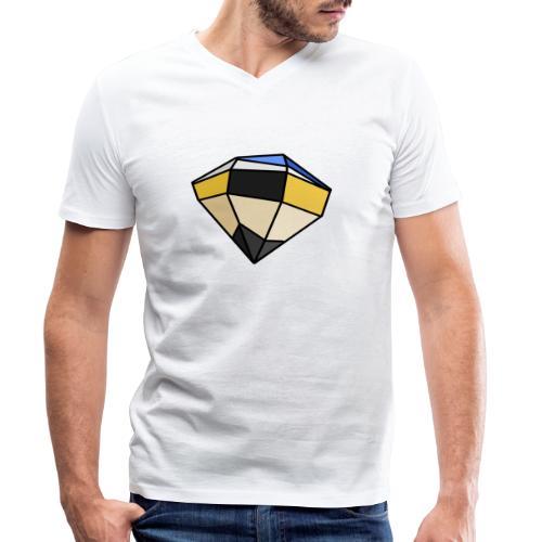 Lapiz - Camiseta ecológica hombre con cuello de pico de Stanley & Stella