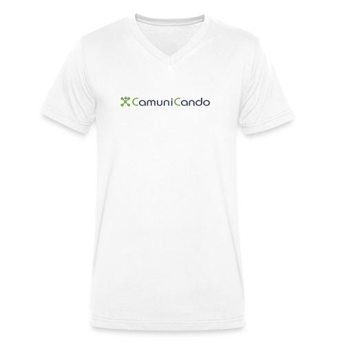 CamuniCando - T-shirt ecologica da uomo con scollo a V di Stanley & Stella