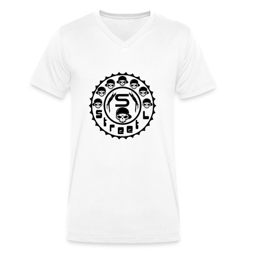 rawstyles rap hip hop logo money design by mrv - Ekologiczna koszulka męska z dekoltem w serek Stanley & Stella
