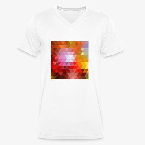 TRIFACE motif - T-shirt bio col V Stanley & Stella Homme