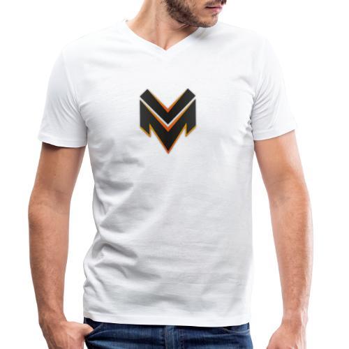 M-Clothing - Men's Organic V-Neck T-Shirt by Stanley & Stella