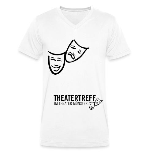 logo_tt - Männer Bio-T-Shirt mit V-Ausschnitt von Stanley & Stella