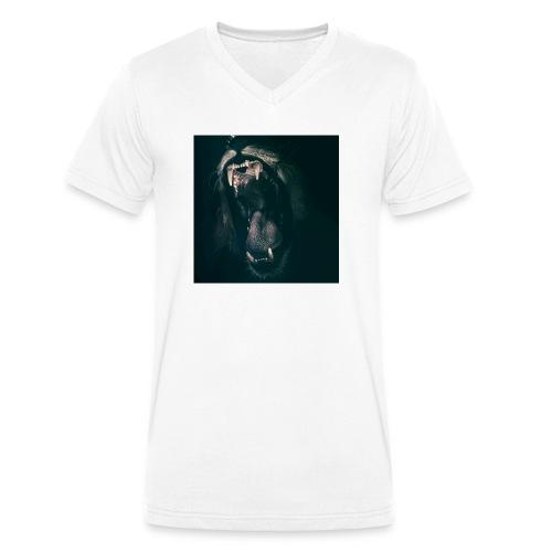 ICEMODZTIGERCREE - Männer Bio-T-Shirt mit V-Ausschnitt von Stanley & Stella
