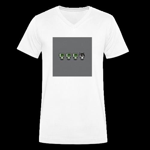 Nighty! - Männer Bio-T-Shirt mit V-Ausschnitt von Stanley & Stella