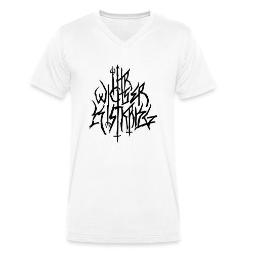 Black Metal ist Krieg - Männer Bio-T-Shirt mit V-Ausschnitt von Stanley & Stella