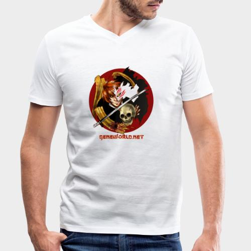 Geneworld - Ichigo - T-shirt bio col V Stanley & Stella Homme