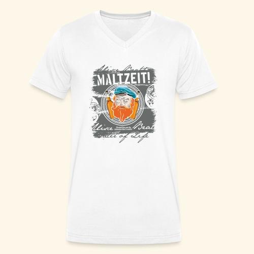 Whisky T Shirt Design Maltzeit - Männer Bio-T-Shirt mit V-Ausschnitt von Stanley & Stella