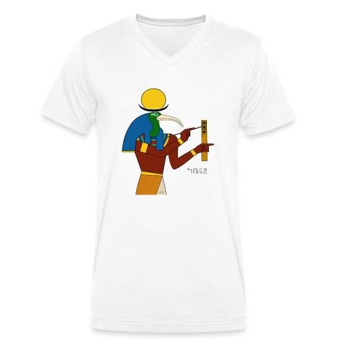 Thot – altägyptische Gottheit - Männer Bio-T-Shirt mit V-Ausschnitt von Stanley & Stella