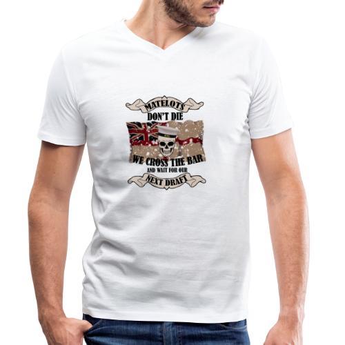 Cross the Bar2 - Men's Organic V-Neck T-Shirt by Stanley & Stella