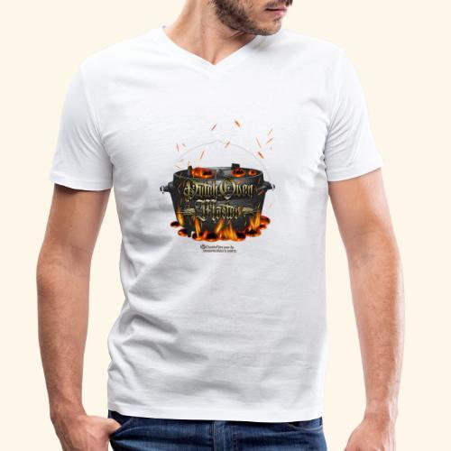 Dutch Oven Master - Männer Bio-T-Shirt mit V-Ausschnitt von Stanley & Stella