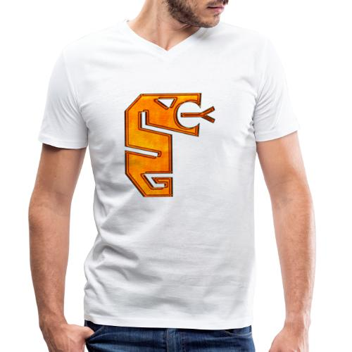 Snake totem - Ekologisk T-shirt med V-ringning herr från Stanley & Stella