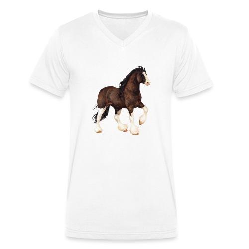 Shire Horse - Männer Bio-T-Shirt mit V-Ausschnitt von Stanley & Stella