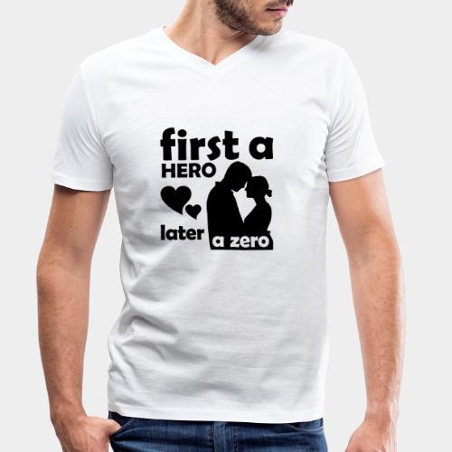 GHB from Hero to Zero 19032018 6 FA - Männer Bio-T-Shirt mit V-Ausschnitt von Stanley & Stella